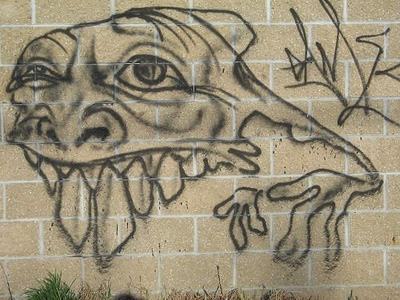 Monster-Graffitti